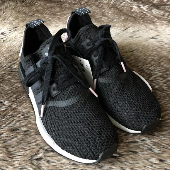Adidas NMD R1 Women's Shoes BlackPink NWT